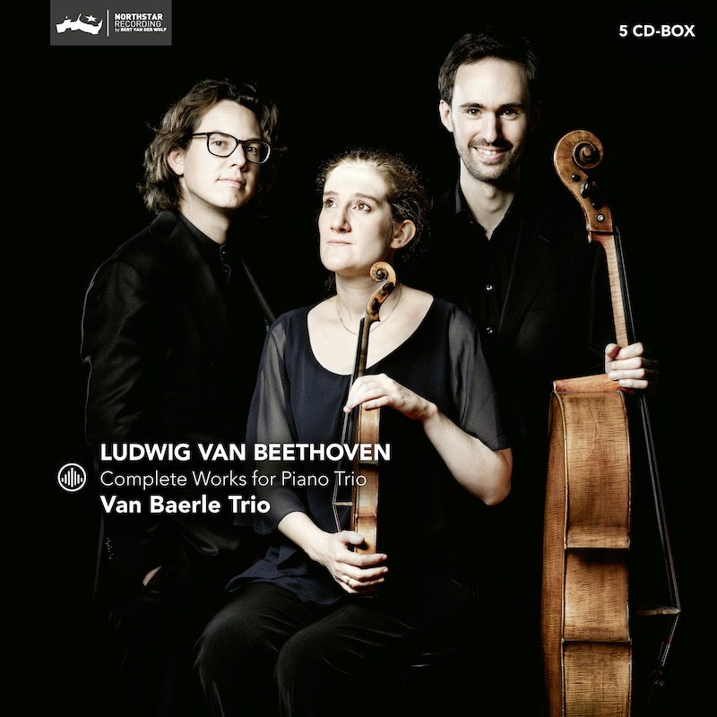 Van Baerle Trio - Beethoven 5CD, Complete Works for Piano Trio