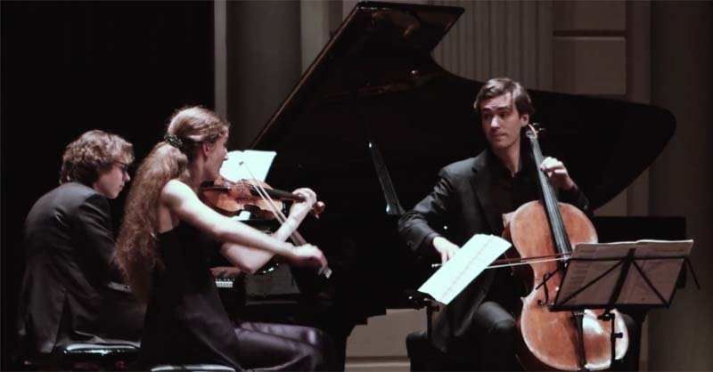 Mendelssohn - Piano Trio no. 2 in C minor Op. 66